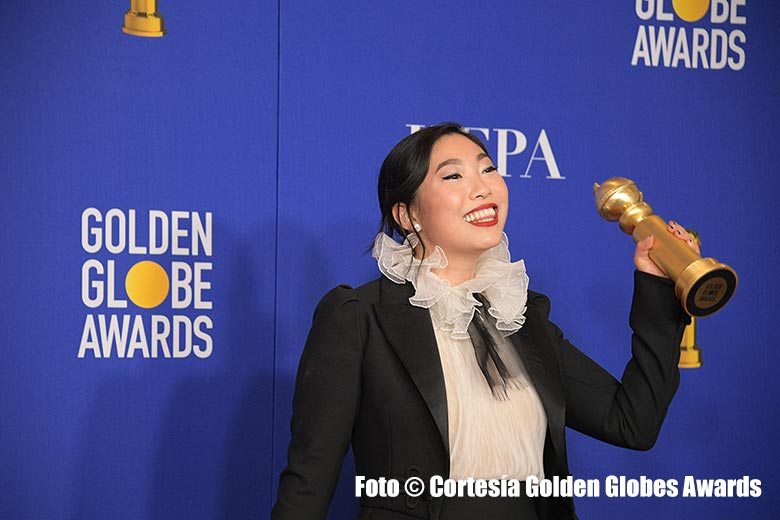 Awkwafina Golden Globes 2020